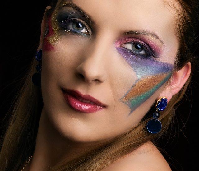 Werken met make-up en schoonheidsproducten